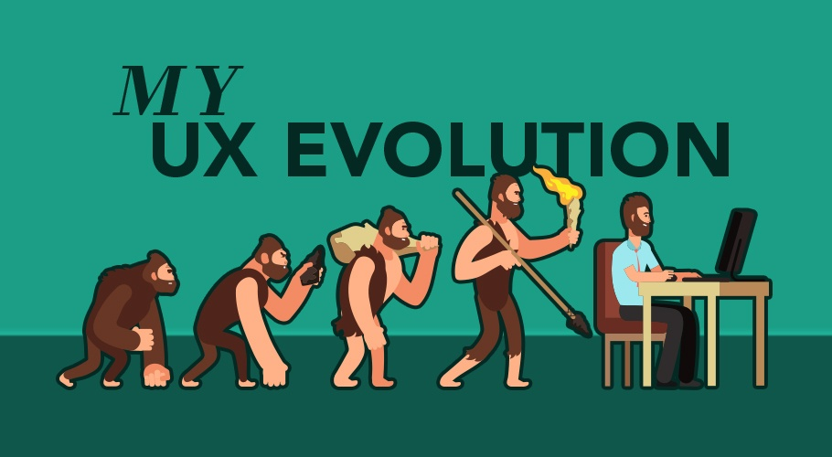 My UX Evolution Title Image