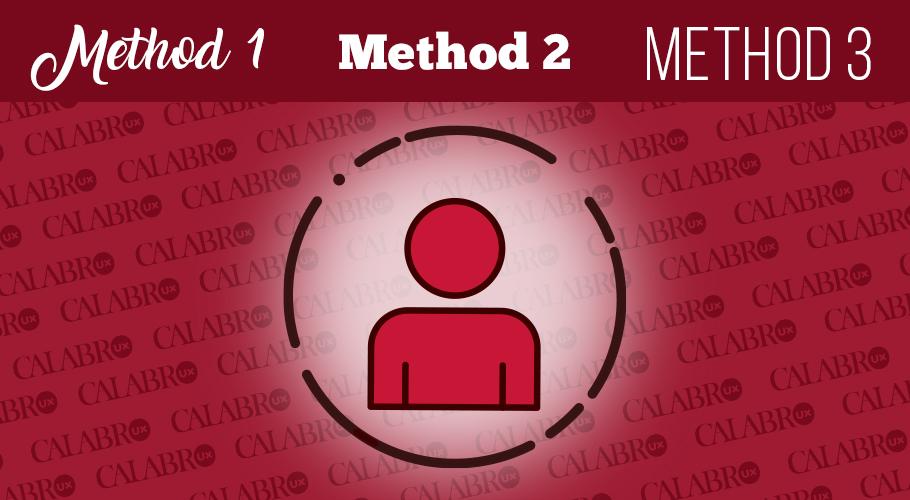 3 Methods for user-centered design